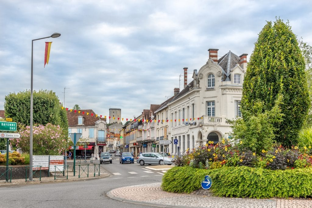 Centre-ville d'Orthez